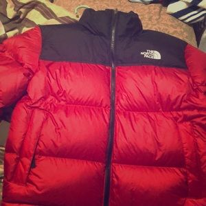 North face retro nuptse jacket
